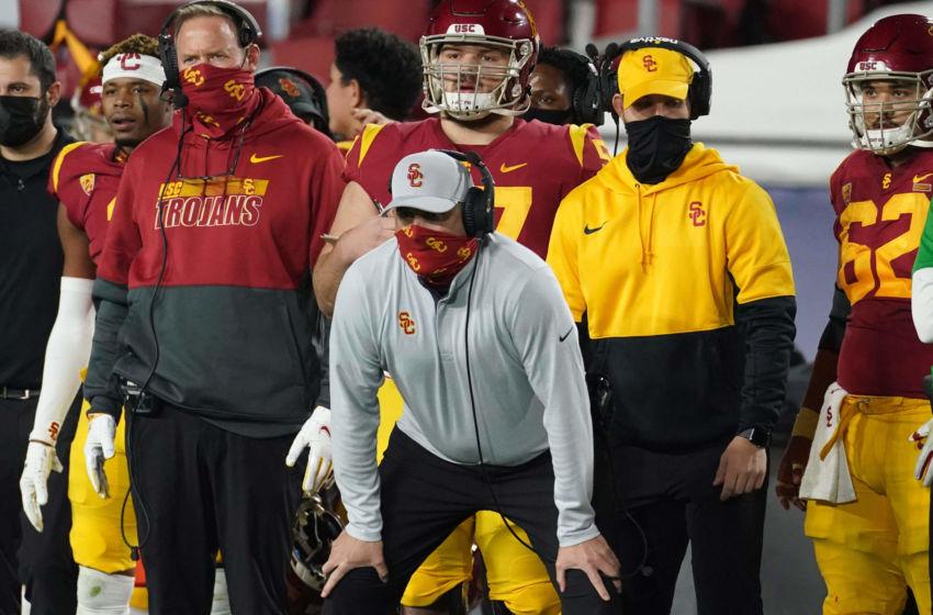 USC football head coach Clay Helton (Kirby Lee-USA TODAY Sports)